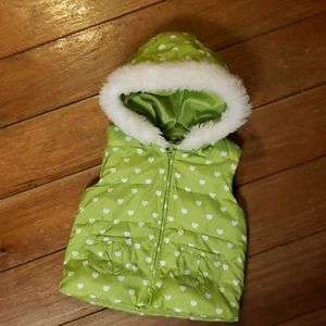 Gymboree Toddler Puffer Vest With Hood